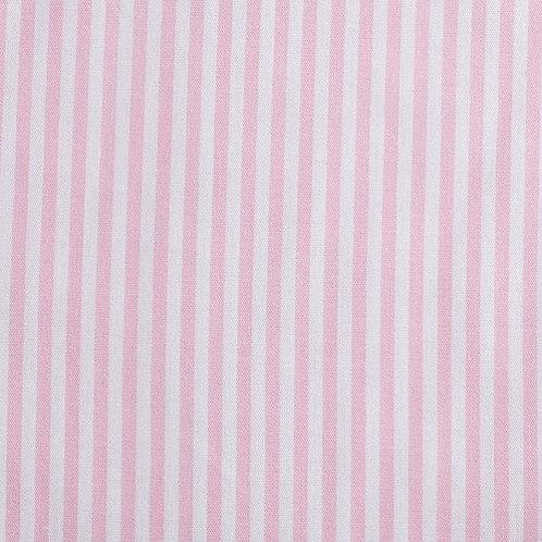 PW Stoff Caravelle Streifen FEIN rosa