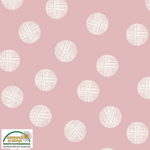 Jersey punkte auf rosa STOF