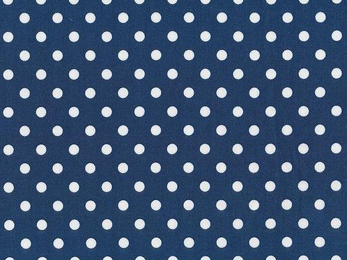 BW Judith blau mit weißen Punkten 148cm