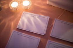 Art Deco Guest Book Cards