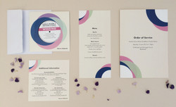 Record Wedding Stationary