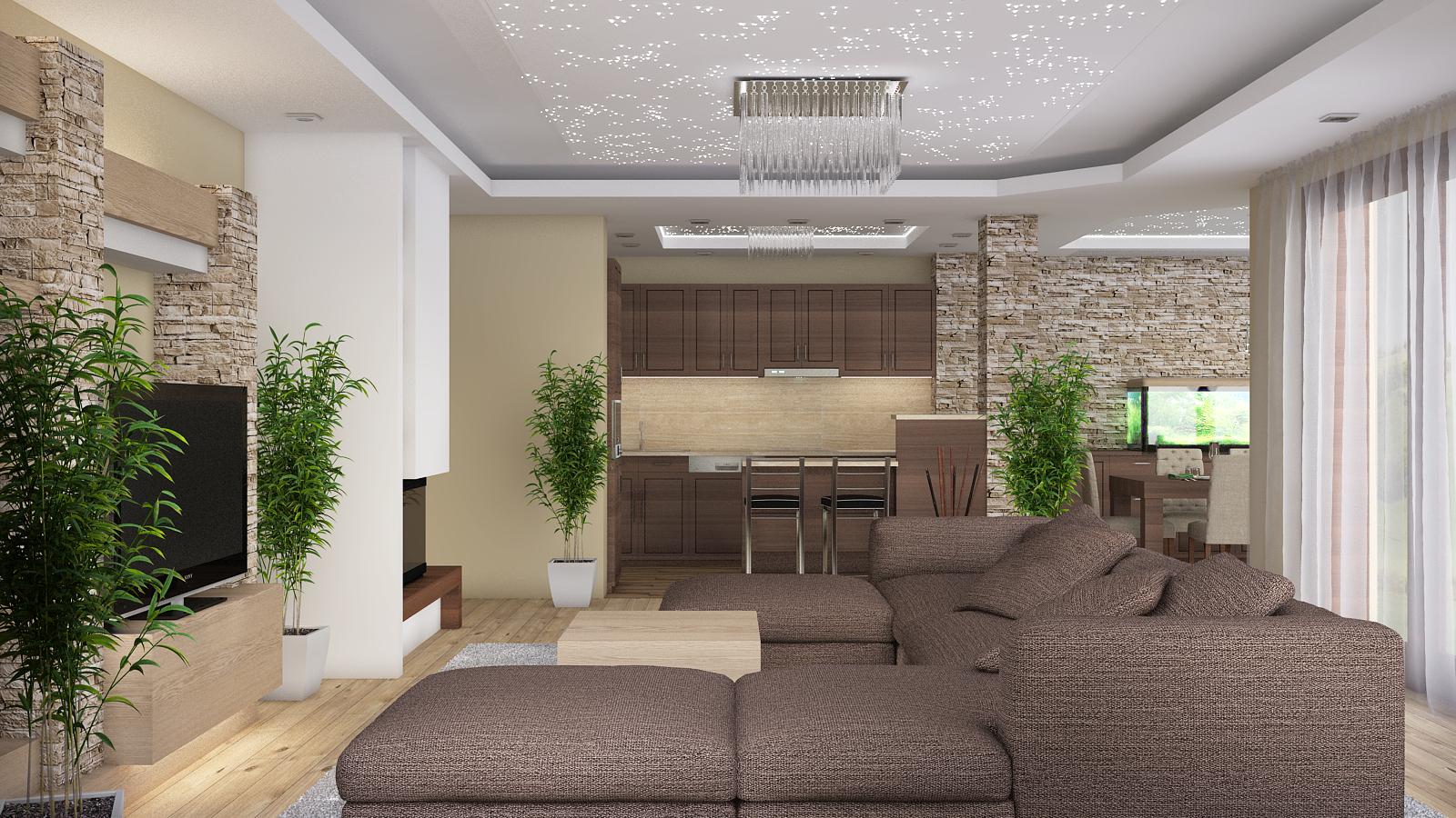 Modern Mediterrán Családi ház