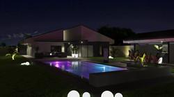 Családi Ház 3D Látványterve