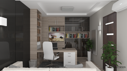 Dolgozószoba 3D Látványterve, Gyula