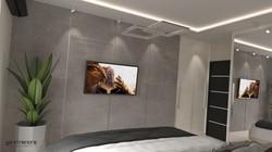 Hálószoba 3D Látványterve