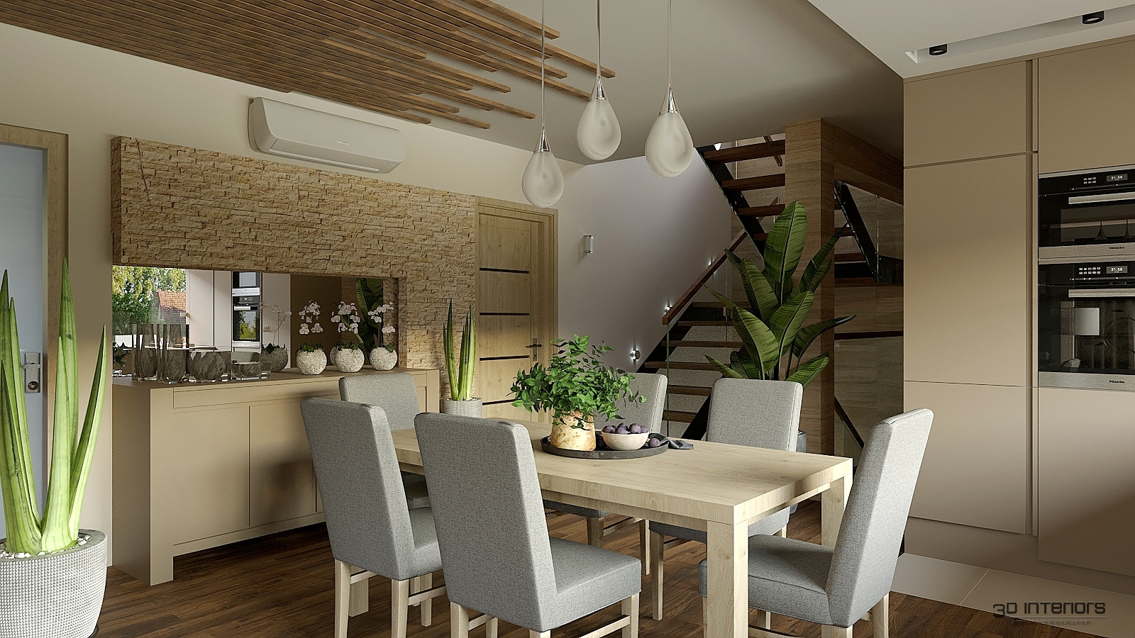 Békésszentandrás - Családi Ház belsőépítészeti Tervei