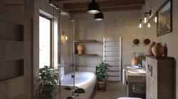 Mediterrán Fürdőszoba 3D Terv