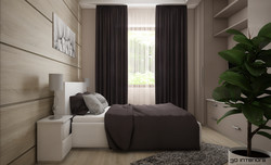 Hálószoba 3D Látványterv