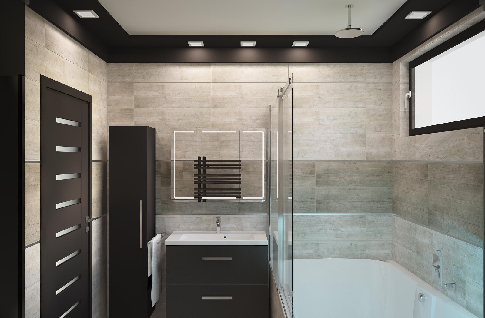Fürdőszobaterv