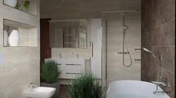 Novabell Eterna - 3D Fürdőszoba Terv