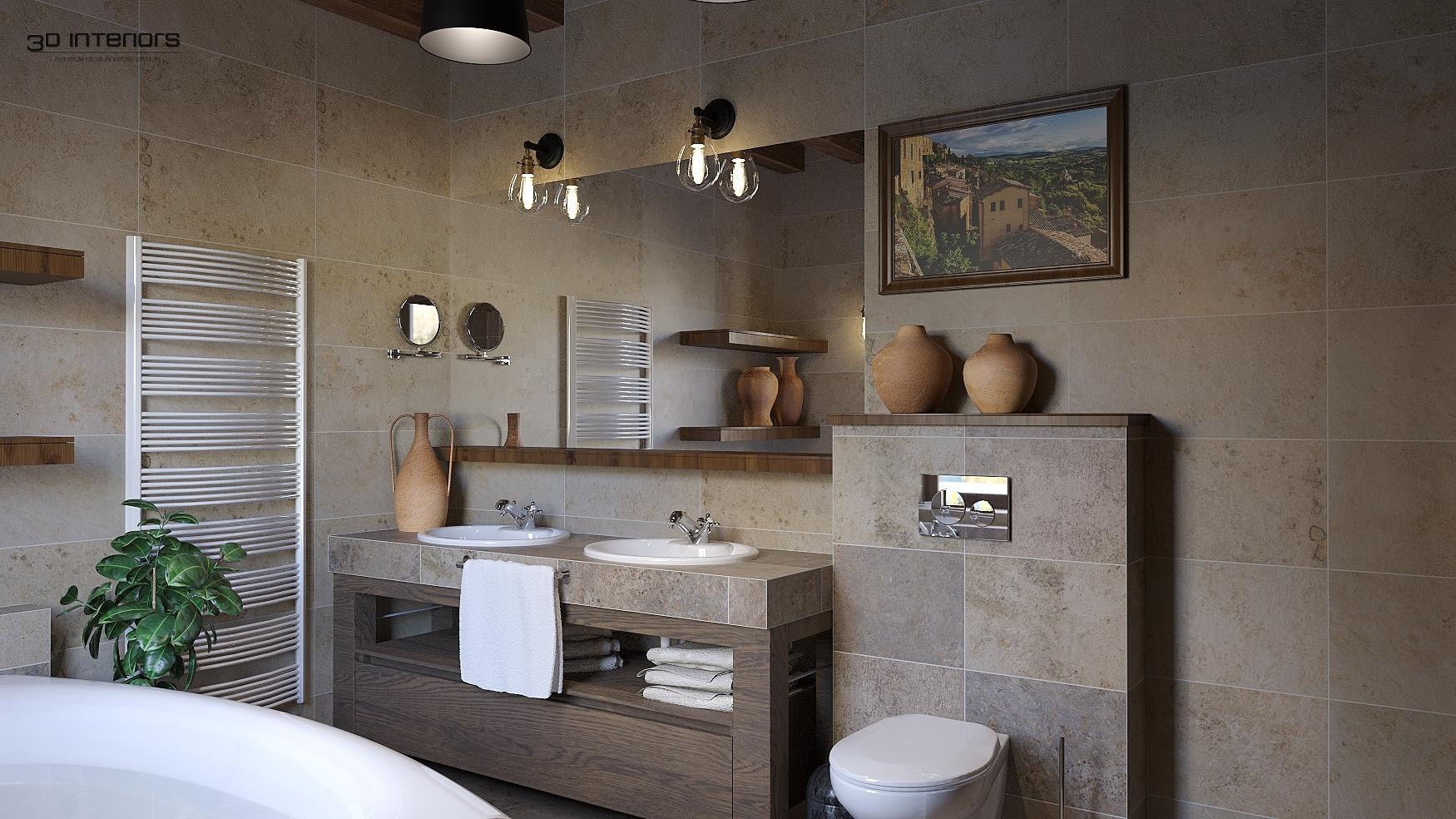 Mediterrán Fürdőszoba