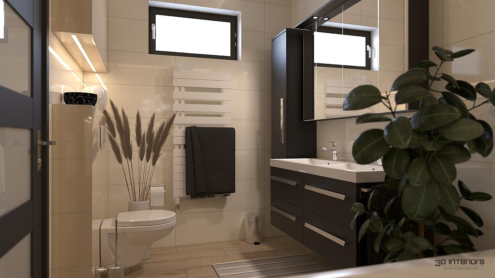 3D Fürdőszoba Látványtervezés