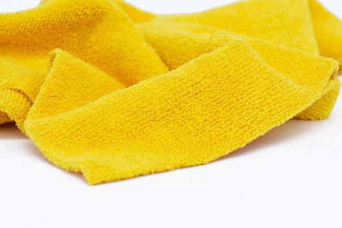 Gold Edgeless Microfiber Towel 16 X 16