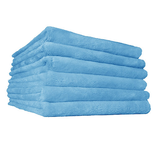 Blue waterless wash/ Drying towels 16 X 24