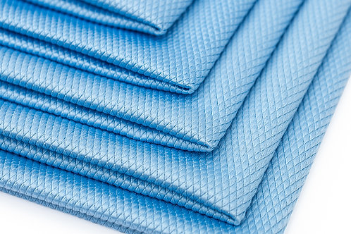 Blue glass towels 16 X 16