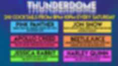 Thunderdome 241 Cocktails