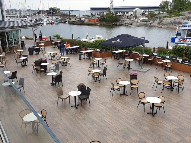 Kahvila Helsingissä