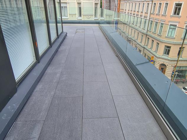 Kattoterassi Helsingissä