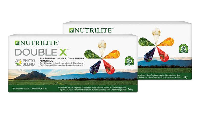 DOUBLE X™ NUTRILITE™ - Recarga (372 comprimidos)