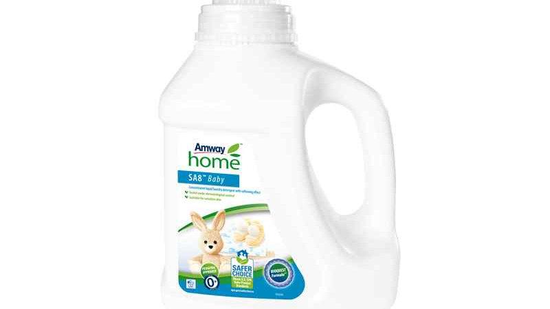 SA8 Baby Detergente Líquido concentrado para a roupa con efecto amaciador