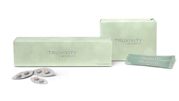 BEAUTY POWDER DRINK e SUPLEMENTO DE BELEZA (Conjunto) TRUVIVITY BY NUTRILITE™