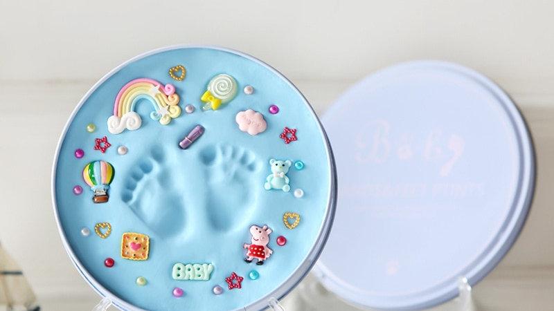 Baby Hand Print Footprint Imprint Kit Baby Handprint Mud and Foot Prin