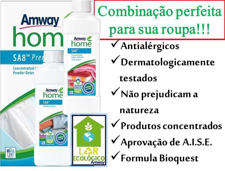 antialérgicos, dermatologicamente testados, biodegradáveis