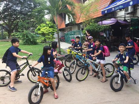 [2016] DEC Field Trip @ East Coast Park (Cycling & Seaside)