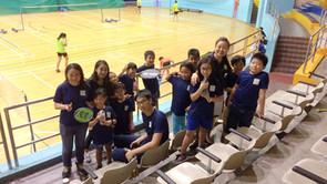 [2016] SEPT Outing at YCK Sports Hall (Badminton)