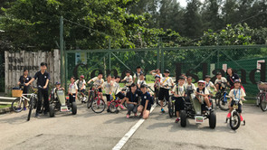 [2017] DEC Field Trip @ Punggol Park (Cycling & Movie)