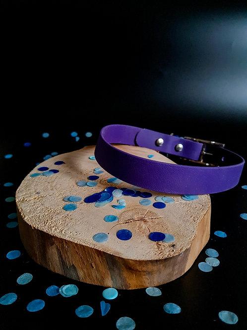 Collier erato violet  - Argent