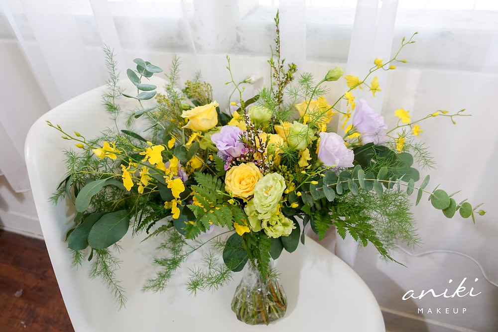 新娘秘書-牡丹春光手綁型捧花