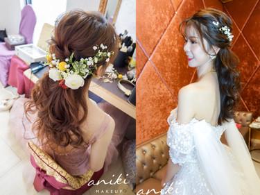 甜美系新娘必收藏!6款仙氣爆棚的「花藝造型」不藏私大公開