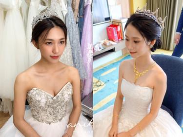 就是要當童話公主!教妳4種常見婚紗 如何搭配「皇冠」頭飾~