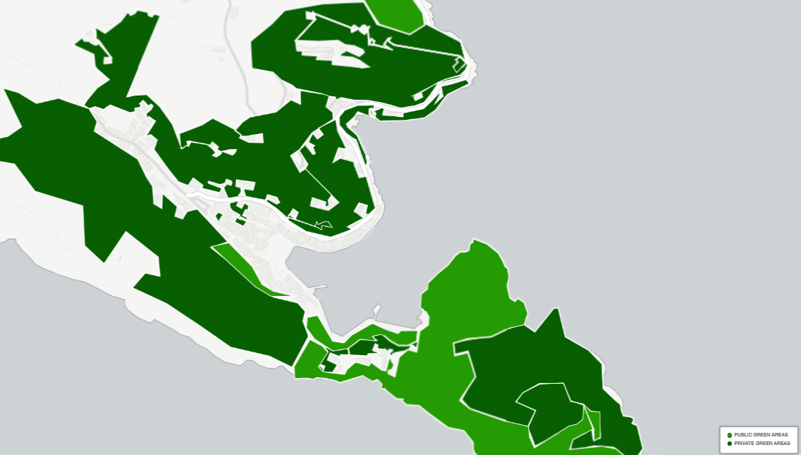 green areas