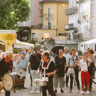 Ambrosia Brass Band on parade