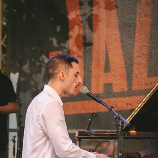 Pablo Campos, piano & vocals