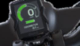 E-Bike Display für Vermietung Vespaverleih