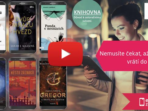Video-návod na půjčování elektronických knih