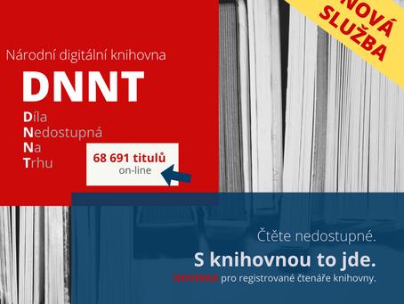 Nová služba - Národní digitální knihovna/Díla nedostupná na trhu