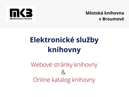 Nový online katalog knihovny