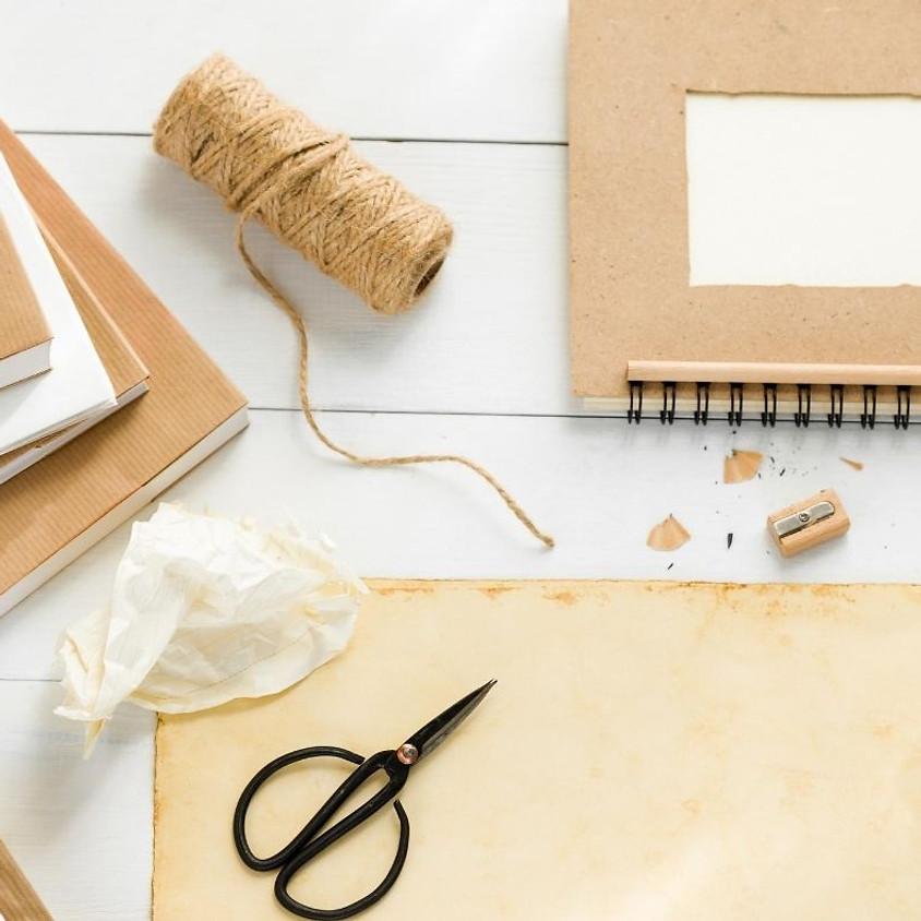 Tvořivá dílna - obalování učebnic