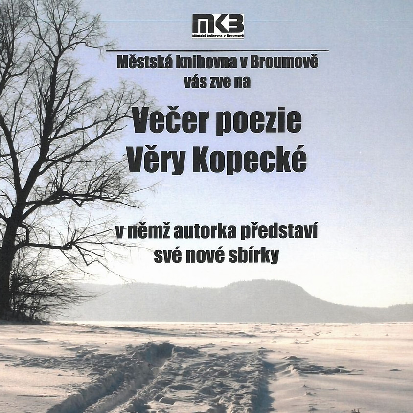 Večer poezie Věry Kopecké