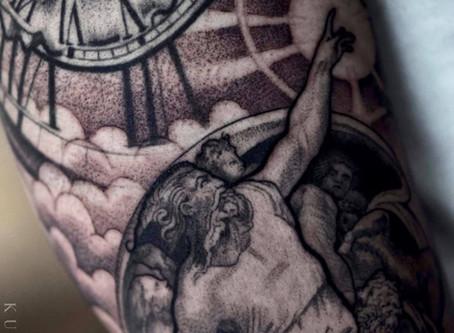 January Tattoos at the New Studio