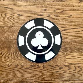 Black Poker Chip - Small