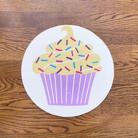 Purple Cupcake - Medium