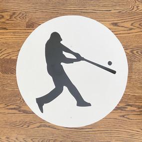 Baseball Player - Large