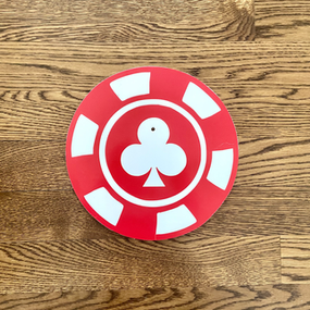 Red Poker Chip - Small