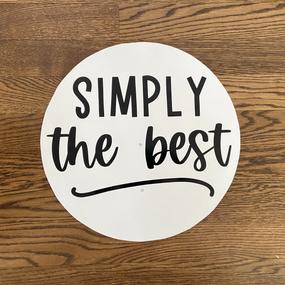 Simply the Best - Medium