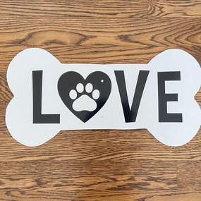 Love Dog Bone